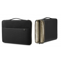 Torba na laptopa HP Carry Sleeve 17.3 czarno/złoty