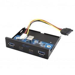 itec Panel przedni wewnętrzny USB USBC | USB 3.0