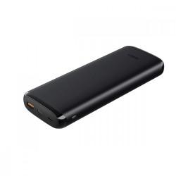 AUKEY PBY23 Black ultraszybki Power Bank  | 20000 mAh | 4xUSB | Quick Charge 3.0 | Power Delivery | Kabel USBC | Etui