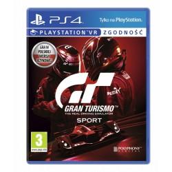 Sony Gra PS4 Gran Turismo Sport SE PL