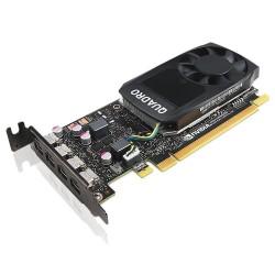 Lenovo Karta graficzna ThinkStation Nvidia Quadro P1000 4GB GDDR5 Mini DP x 4 z ramką niskoprofilową 4X60N86660 (P320,P330)