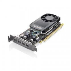 Lenovo Karta graficzna ThinkStation Nvidia Quadro P620 2 GB GDDR5 Mini DDPx4 z wspornikiem wysokoprofilowym 4X60R60468 (P320,P33