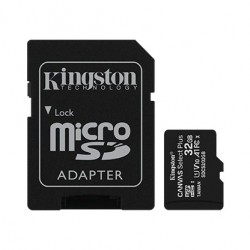 Kingston Karta pamięci microSD  32GB Canvas Select Plus 100MB|s Adapter