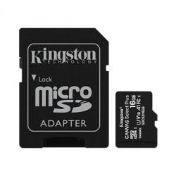 Kingston Karta pamięci microSD 16GB Canvas Select Plus 100MB s Adapter