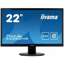 IIYAMA Monitor 22 E2282HSB1 1ms,HDMI,DVI,VGA,FLICKER