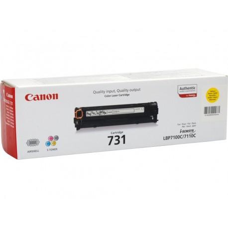 Canon Toner CRG 731Y YELLOW 6269B002