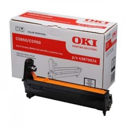 OKI Bęben C5850|5950 Black (20k)