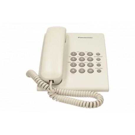 Panasonic KXTS500 White Przewodowy White