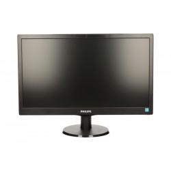 Philips Monitor 19.5 203V5LSB26|10 LED Czarny