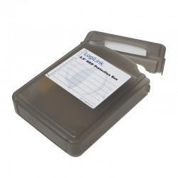 LogiLink Pudełko ochronne do HDD 3.5 czarne