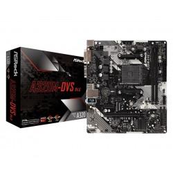 ASRock Płyta główna A320MDVS R4.0 AM4 2DDR4 DSUB|DVI|USB 3.1 micro ATX