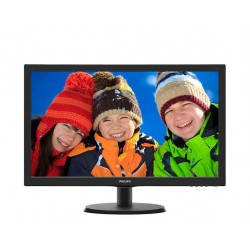 Philips Monitor 21.5 223V5LHSB2|00  LED HDMI Czarny