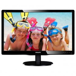 Philips Monitor 19.5 200V4LAB2 LED DVI Głośniki Czarny