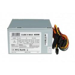 iBOX Zasilacz 400 W CUBE II 12 CM FAN