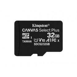 Kingston Karta pamięci microSD 32GB Canvas Select Plus 100MB|s