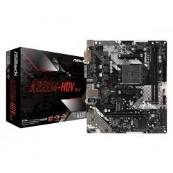 ASRock Płyta główna A320MHDV R4.0 AM4 2DDR4 DSUB|DVI|HDMI|m.2 mATX