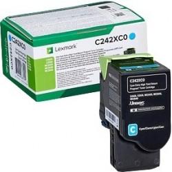 Lexmark Toner cyan 3500 C242XC0