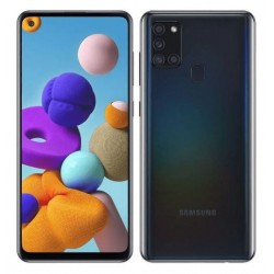 Samsung Smartfon GALAXY A21s DS 3|32 GB Czarny