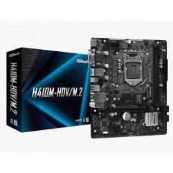 ASRock Płyta główna H410MHDV|M.2 s1200 2DDR4 HDMI|DVI|DSUB mATX