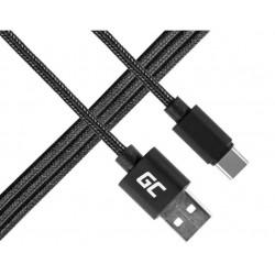Green Cell Kabel USBC  USB nylonowy
