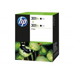 HP 301XL Black Ink Cartridge Twin Pack