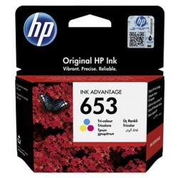 HP Inc. Tusz nr 653 Tricolour 3YM74AE wkład do drukarki atramentowej