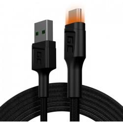 Green Cell Kabel Ray USBMicroUSB 200cm, podświetlenie LED