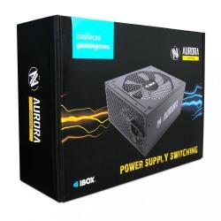 iBOX Zasilacz Aurora 400W 14 fan gaming BOX