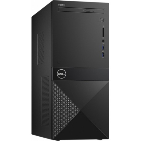 Dell Desktop Vostro 3681 i310100 4GB 256GB SSD UHD 630 DVD RW WLAN + BT Kb Mouse Win10Pro 3Y BOS
