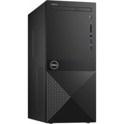 Dell Desktop Vostro 3681 i310100 8GB 256GB SSD UHD 630 DVD RW WLAN + BT Kb Mouse Win10Pro 3Y BOS