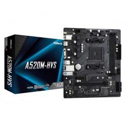ASRock Płyta główna A520MHVS AM4 2DDR4 HDMI|VGA M.2 mATX