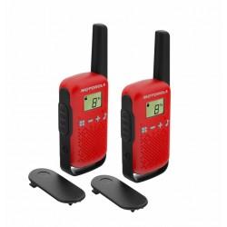 Motorola Krótkofalówki PMR TLKR T42 czerwone
