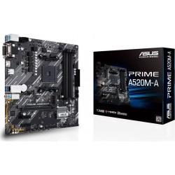 Asus Płyta główna A520MA AM4 4XDDR4 M.2 DVI|DSUB|HDMIB uATX