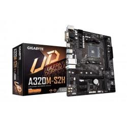 Gigabyte Płyta główna A320MS2H 3.0 AM4 A320M 2DDR4 HDMI|DVI|DSUB uATX