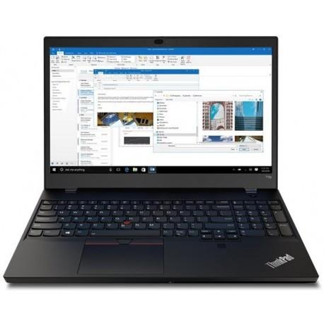 Lenovo Laptop ThinkPad T15p G1 20TN002FPB W10Pro i710750H 32GB 1TB GTX1050 3GB LTE 15.6 UHD Black 3YRS Premier Support