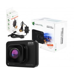 "Wideorejestrator kamera Navitel AR200 PRO 2"" FHD+KARTA 32"