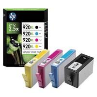 HP oryginalny ink blistr, C2N92AE#301, CMYK, No.920XL, HP