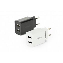 Gembird Ładowarka uniwersalna USB 2.1 A mix kolorów