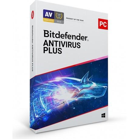 Bitdefender *BitDefender AV Plus KON 1Stan.2Lata BDAVK2Y1D