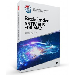 Bitdefender *BitDefender AV Mac 3Stan. 1Rok BDAMN1Y3D