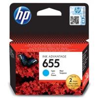 HP oryginalny ink CZ110AE#BHK, No.655, cyan, 600s, HP Deskjet Ink Advantage 3525, 5525, 6525, 4615 eAiO