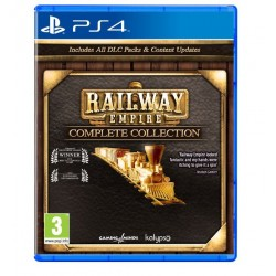 KOCH Gra PS4 Railway Empire Complete Collection