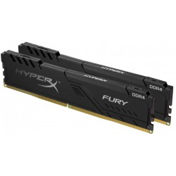 HyperX Zestaw pamięci DDR4 Fury Black 64GB 3200 (2x32GB) CL16