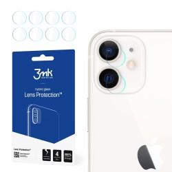 3MK Szkło hybrydowe FlexibleGlass Lens iPhone 12 na obiektyw  aparatu 4szt