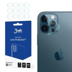 3MK Szkło hybrydowe FlexibleGlass Lens iPhone 12 Pro 6,1  na obiektyw aparatu 4szt