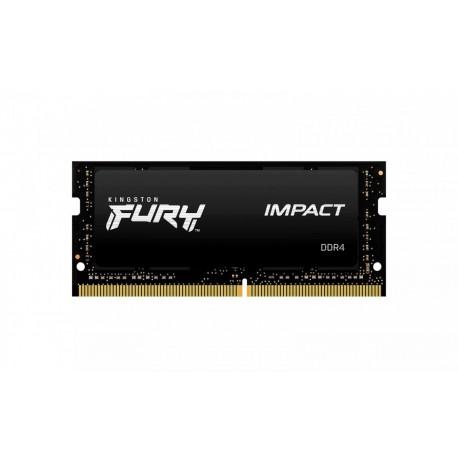 Kingston Pamięć DDR4 Fury Impact SODIMM 8GB(1*8GB) 2666 CL15