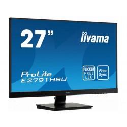 IIYAMA Monitor 27 cali E2791HSUB1 FHD,TN,HDMI,DP,VGA,USB,1ms,300cd,F.Sync