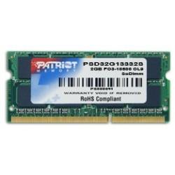 Patriot SODIMM DDR3 4GB 1333MHz CL9