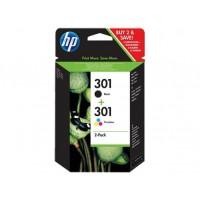 HP 301 Combo Pack czarny|trójkolorowy J3M81AE