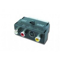 Gembird Adapter EURO|SVHS3RCA (CHINCH)